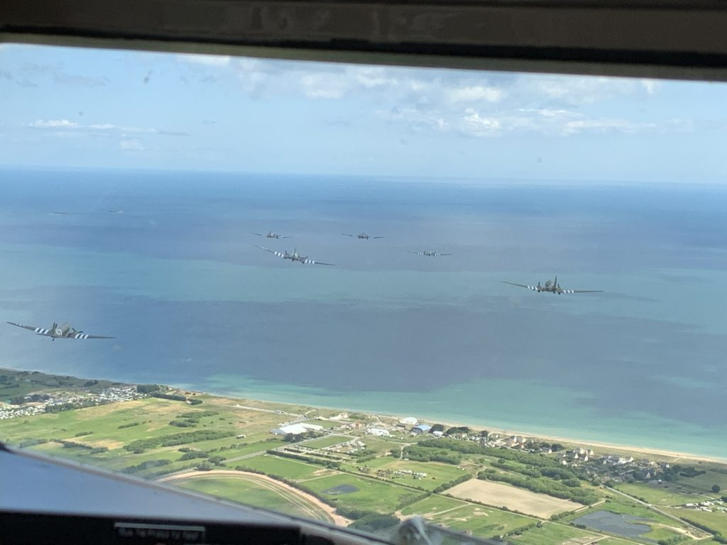 D-Day Squadron Successfully Participates in Official D-Day